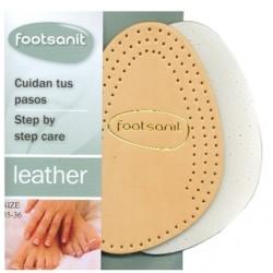 Medias plantillas realizadas con piel de MAXIMA CALIDAD con una gruesa capa de latex para los pies más delicados.