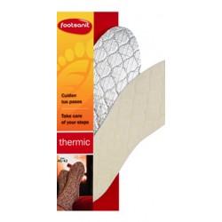 Plantillas de Invierno. Lana natural que aporta la temperatura ideal al caminar + protección de aluminio para evitar que el fri