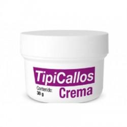 TIPICALLOS CREMA Gracias a su composición de Ácido salicílico y Urea suaviza y controla la formación de callos. Rehidrata, ex