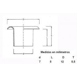 OJETES DE LATON ESMALTADO 315/16 (1000)