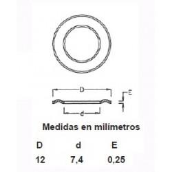 ARANDELAS LATON OJETE 315/16 (1000)