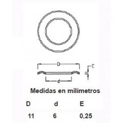 ARANDELAS LATON OJETE 315/8 (1000)