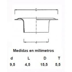 OLLAOS LATON 115/23 (1000UDS)