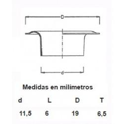 OLLAOS LATON 115/25 (1000 uds.)