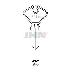 LLAVE JMA ACERO 28 D (C)