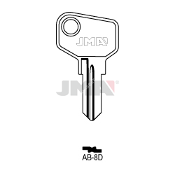 LLAVE JMA ACERO AB 8D (C)