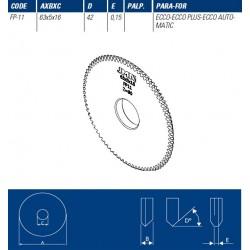JMA FRESA FP11 - 63 * 5 * 16 - ECCO/PLUS/AUT