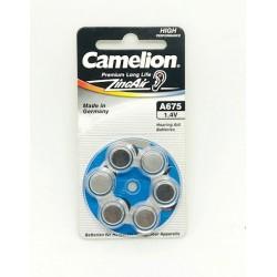 CAMELION PILA AUDIFONO  -A675 (BLIS 6)