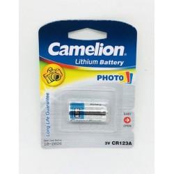 CAMELION PILA LITHIUM CR123A (BLIS 1)