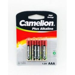 CAMELION PILA PLUS ALCALINA LR03 AAA (BLIS 4)