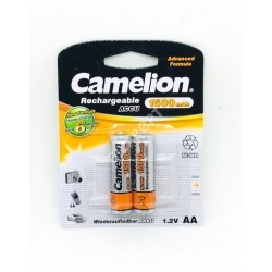 CAMELION PILA RECARGABLE NI NH LR06 AA 1500 MAH (BLIS 2)
