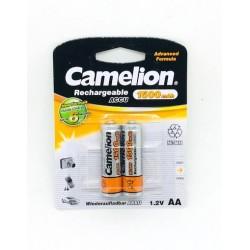CAMELION PILA RECARGABLE NI NH LR06 AA 1500MAH (BLIS 2)