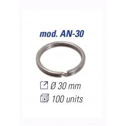 JMA ANILLAS DE LLAVERO 30MM. AN-38 (50 UDS)