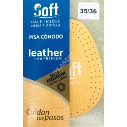 MEDIA PLANTILLA SOFT LEATHER PREMIUM (PAR)