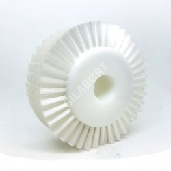 CEPILLO CIRCULAR NYLON 70 X 160 EJE 30MM.