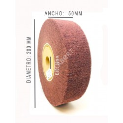 RODILLO FIBRA SCOTCH MASTER 200x50 EJE 30