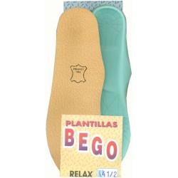 PLANTILLAS BEGO RELAX PIEL (PAR)